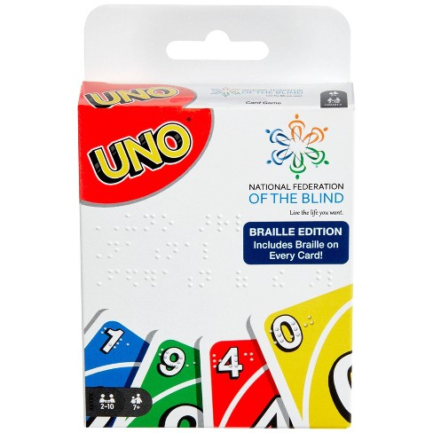 Uno - Braille Edition